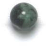 Semi-Precious 6mm Round Rainfrost Jade